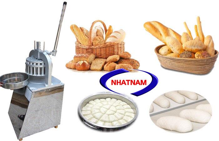 Máy chia bột bánh mì