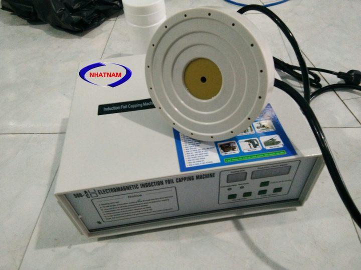 Máy dán màng seal bán tự động 500A