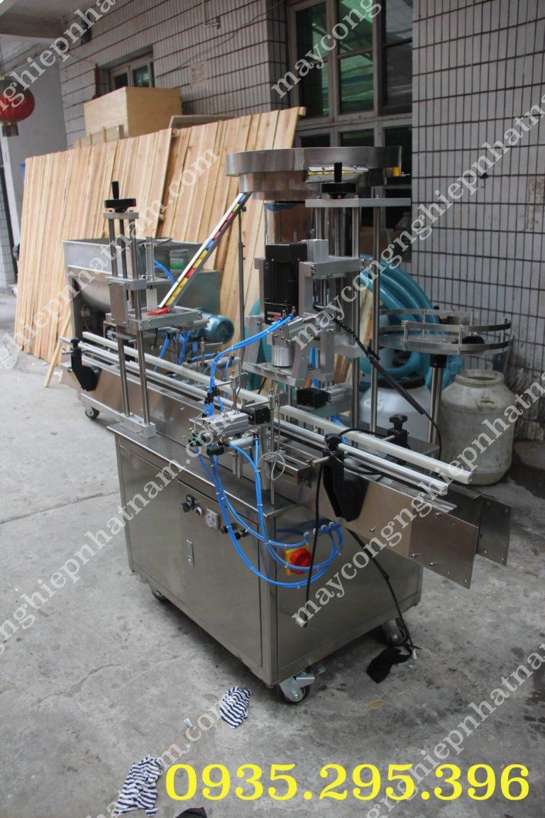 Máy xoáy nắp chai tự động QDX-1