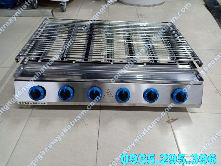 Bếp nướng gas 6 họng