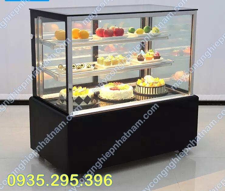 Tủ trưng bày bánh kem 3 tầng 90cm
