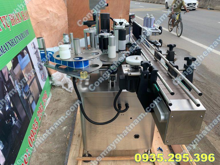 Máy dán nhãn chai tròn MT-200
