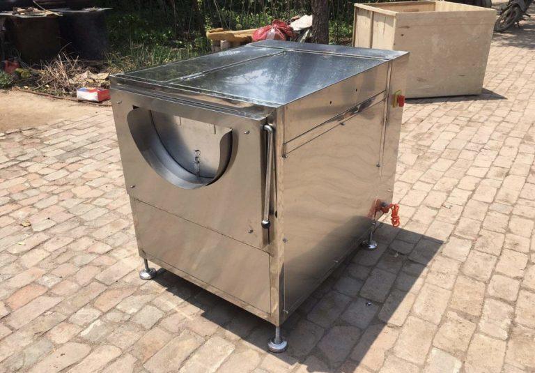 Máy rửa củ củ quả công nghiệp