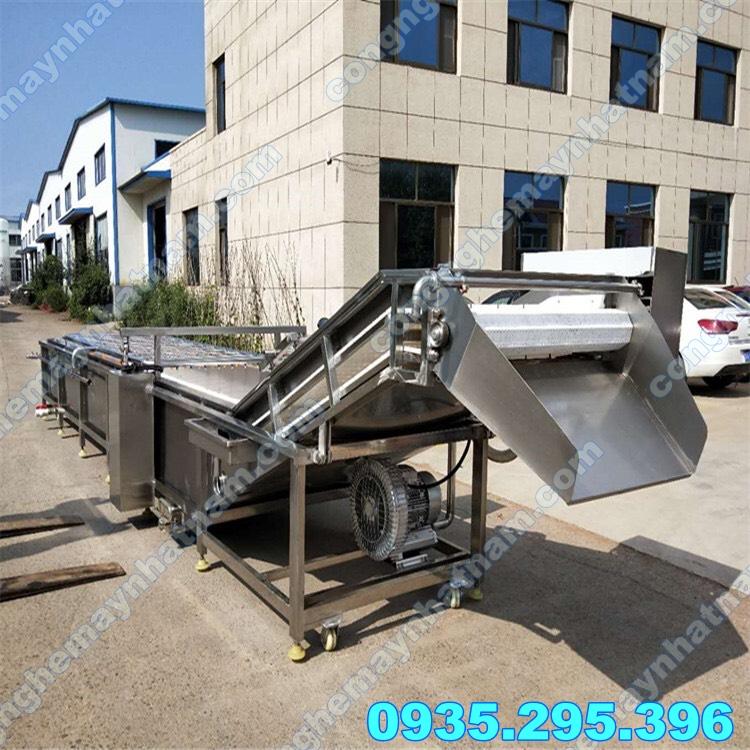 Máy rửa rau củ công nghiệp