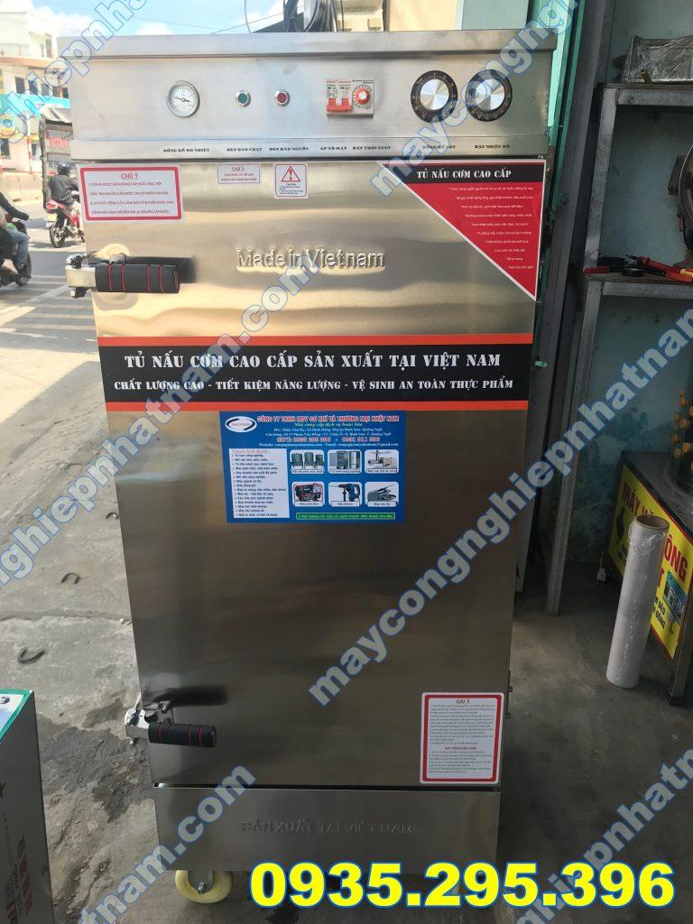 Tủ cơm dùng điện và gas 8 khay