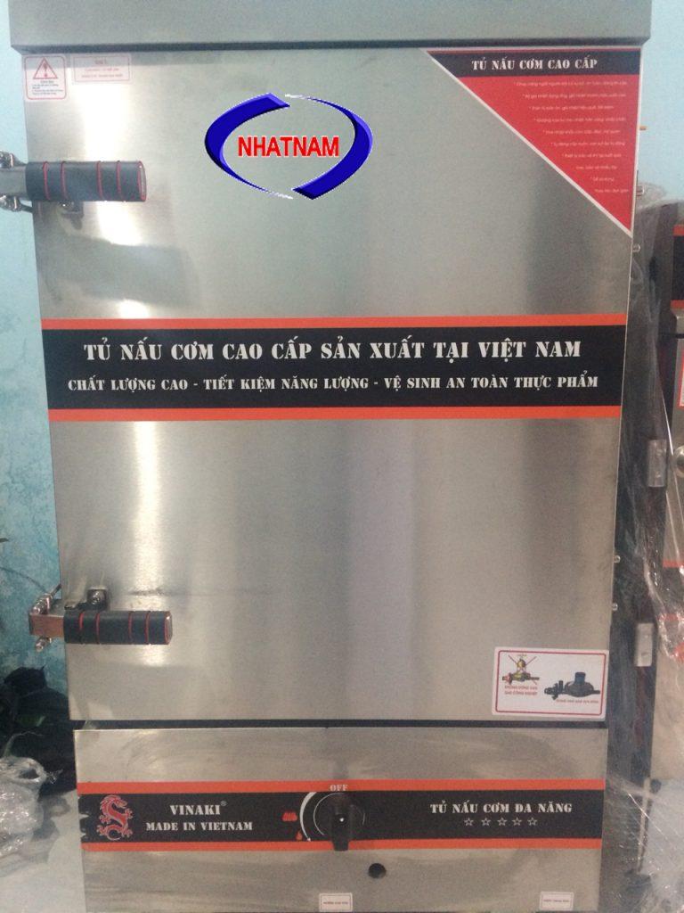 Tủ cơm 8 khay dùng gas