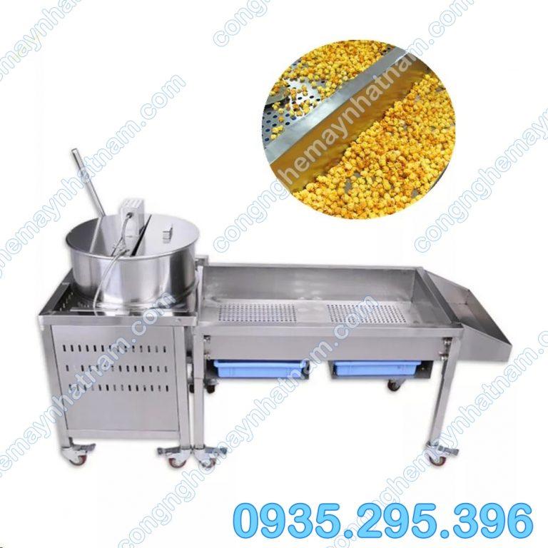 Máy làm bắp rang bơ dùng gas 1